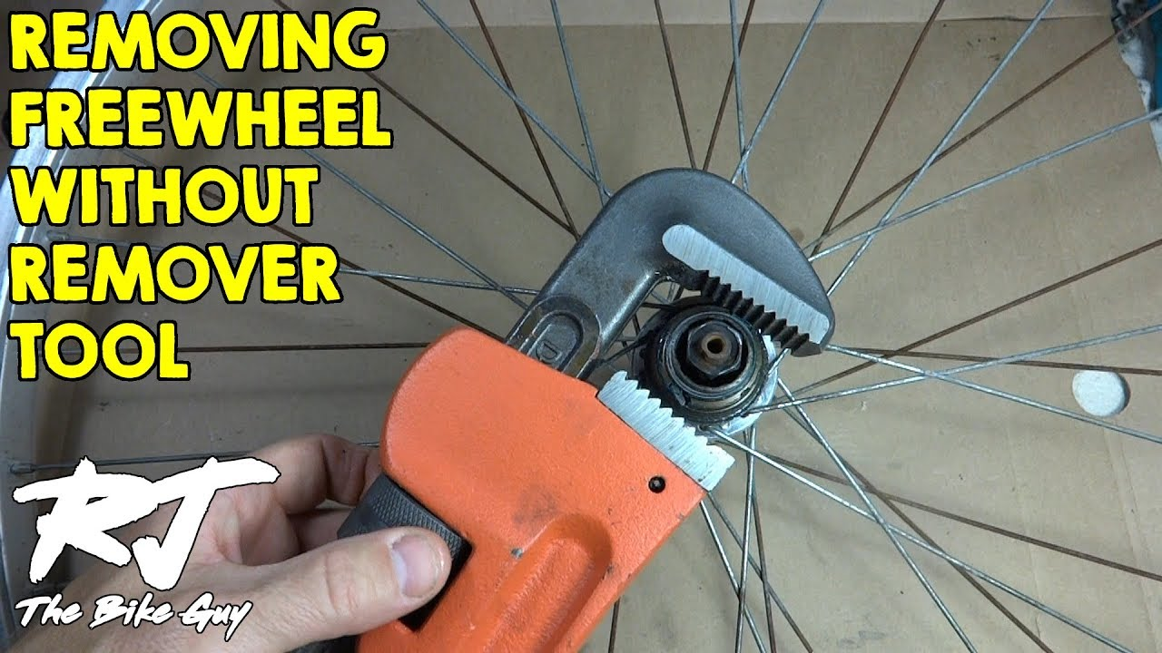 How To Remove Freewheel Without Remover Tool Youtube