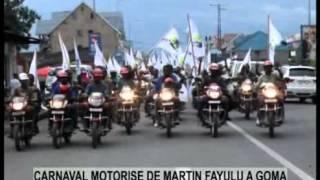 CARNAVAL MOTORISE DE MARTIN FAYULU A GOMA