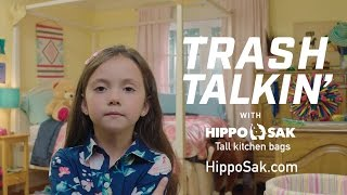 Hippo Sak Trash Bags – Trash Talkin' Drawstrings