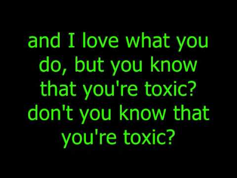 Toxic lyrics - Britney Spears - YouTube