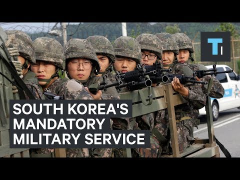 Thumbnail: What it's like to serve in South Korea's mandatory military service