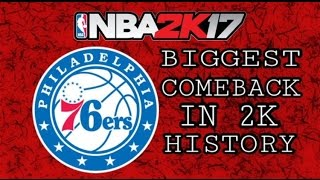 BIGGEST COMEBACK IN 2K HISTORY | EXPOSING OFF-BALLER | ROAD TO GOAT NBA 2K17