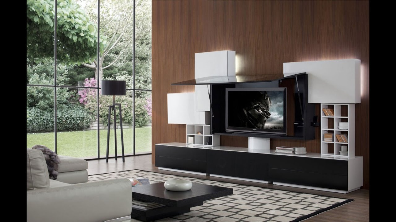 Home Decor Ideas Entertainment Center - YouTube