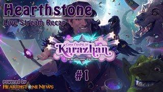 [Let's Play] Hearthstone Live-Stream Highlight #1 | deutsch @60fps