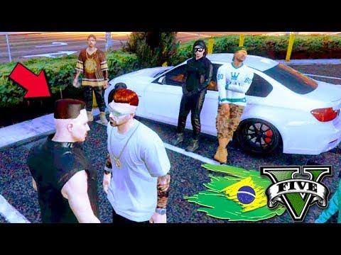 GTA V: BRASIL ROLEPLAY - ENTREI PARA uma GANGUE DA PESADA!!! #08