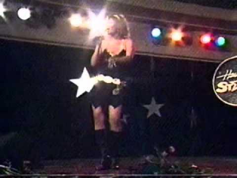 "Kimberly Edwards performing ""Hot Stuff"" 2005"