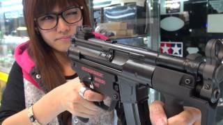 榔頭模型 WE 阿帕契 MP5K GBB 瓦斯衝鋒槍 試打