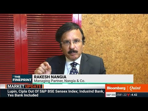 Rakesh Nangia spoke to Bloomberg Quint discussing  MAT issues looming over the Insolvency Resolution