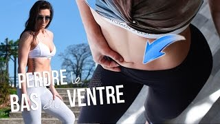 PERDRE le BAS DU VENTRE + HIIT Brûle graisse