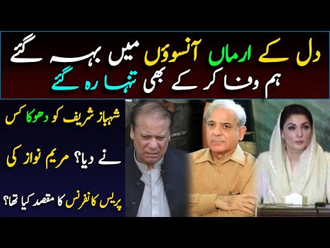 Reasons behind Shahbaz Sharif's arrest and Maryam Nawaz's Press Conference    Details by Umer Inam