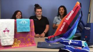 Facebook Live 6/16/17: HTV Onto Hand Towels & Beach Towels!