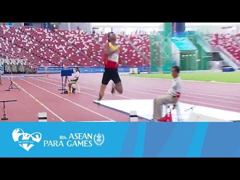 Athletics (Day 2 afternoon) Men's Long Jump | 8th ASEAN Para Games