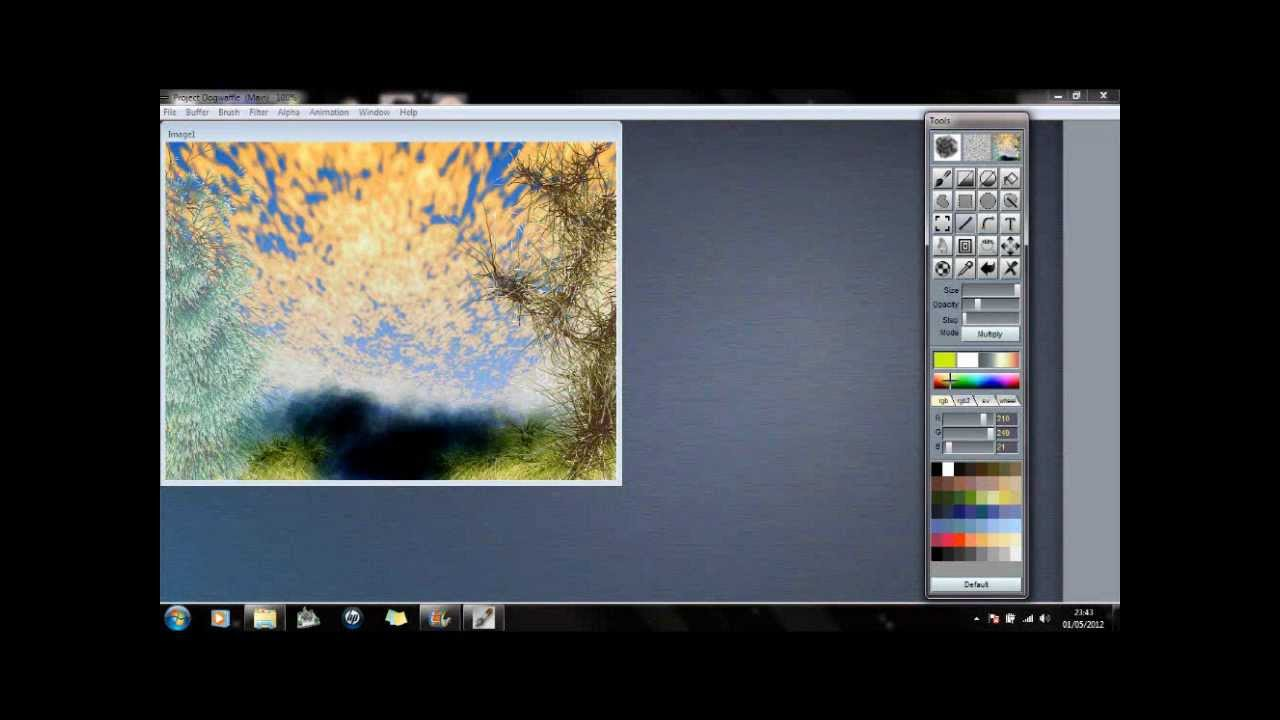A beginners guide to Project DogWaffle free drawing software - view ...