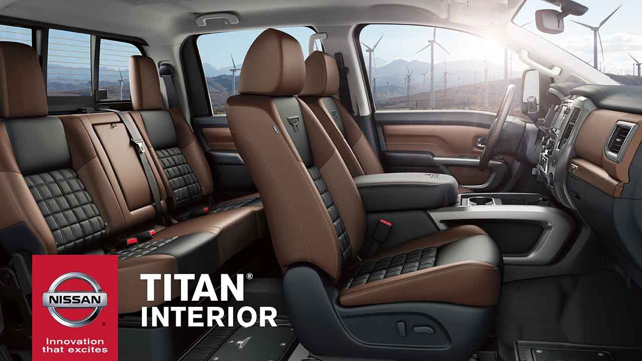 2017 Nissan Armada Configurations >> 2017 Nissan Titan Interior Cabin Features