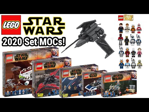 Neue 2020 LEGO Star Wars Sets In MOC Version! | (The Clone Wars)