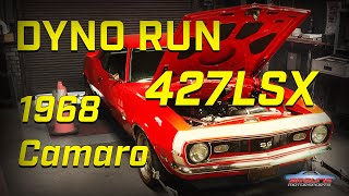 1968 Chevy Camaro SS   DYNO RUN   *427 LSX Engine