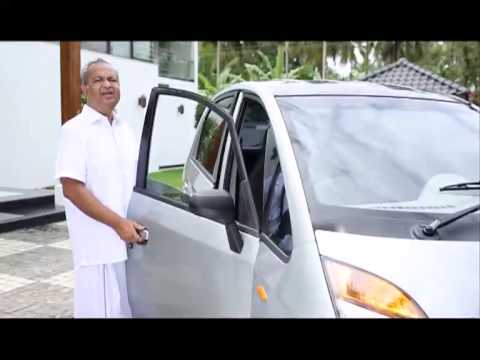 a  V V I P using Tata Nano as his favorite city car