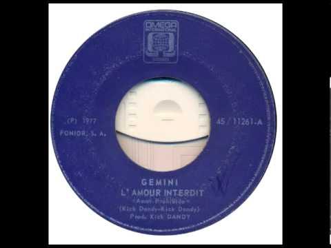 Gemini L'amour interdit mpg 1977