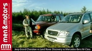 Jeep Grand Cherokee vs Land Rover Discovery vs Mercedes-Benz M-Class Comparison