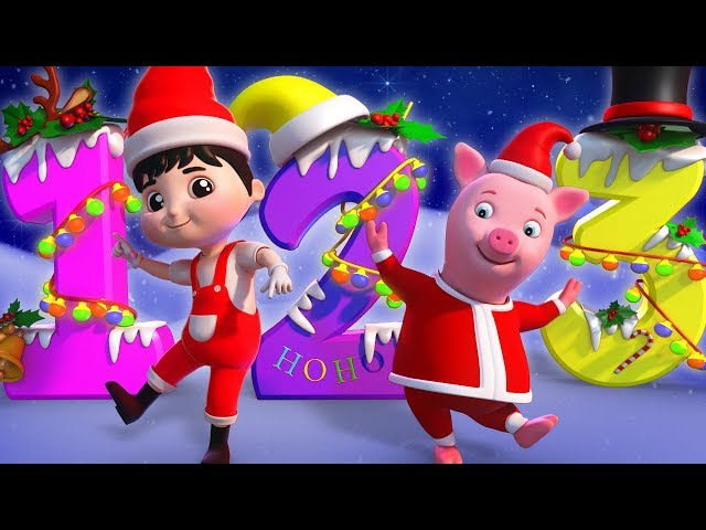 Christmas 123 Song | Xmas Music & Kids Song | Learning Numbers For Kids - Farmees