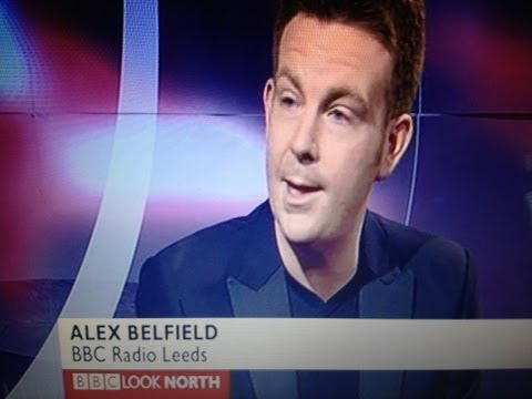 Alex Belfield Live @ BBC Look North TV - Children In Need - 18/11/2010