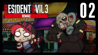 Bullets Make Donut Holes | Kaiser Plays: Resident Evil 3 Remake Part 2 - TFS Gaming