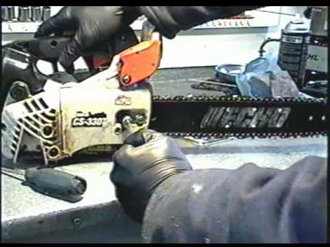 How to replace the chain on your echo chainsaw youtube how to replace the chain on your echo chainsaw greentooth Gallery