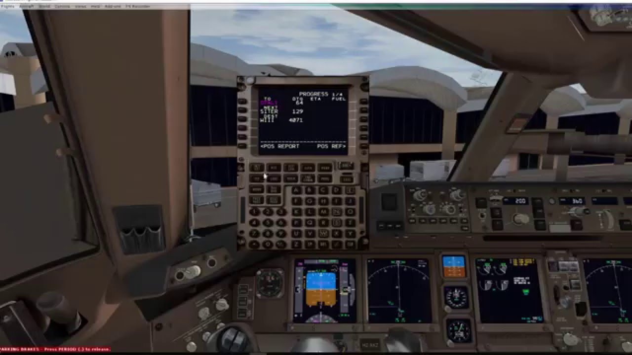 FSX How to add your Route in FMC PMDG 777 and Aerosoft A320-21