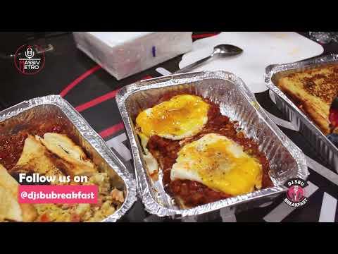 Sthembiso Ndashe  #WhatsForBreakfast on the Dj Sbu Breakfast