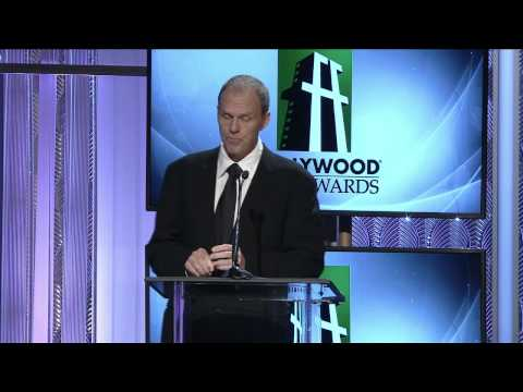 Brian Helgeland Presents Hollywood Career Achievement Award - HFA 2013