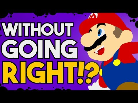 Is it Possible to Beat New Super Mario Bros. U Without Pressing Right?