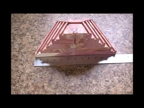 Making a Challenge Coin Rack