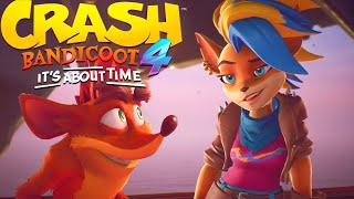 Crash Bandicoot 4: It's About Time - New Gameplay Tawna Reveal