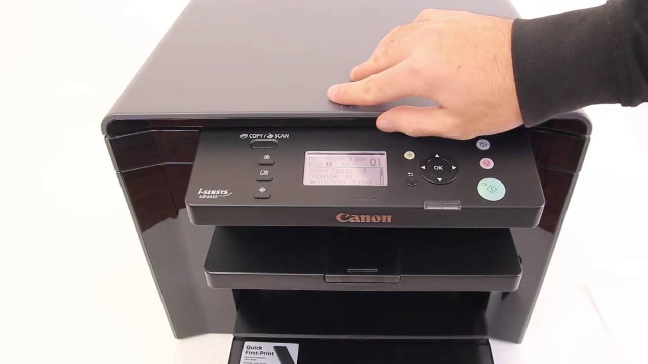 Canon i-SENSYS MF4410 - Ürün Tanıtımı - YouTube
