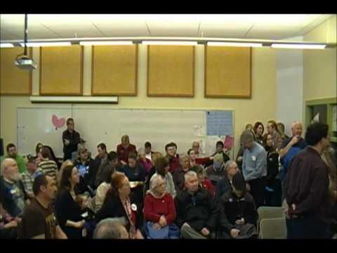 Auburn, Maine GOP Caucus 2012