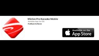 WINLIVE PRO KARAOKE MOBILE iOS
