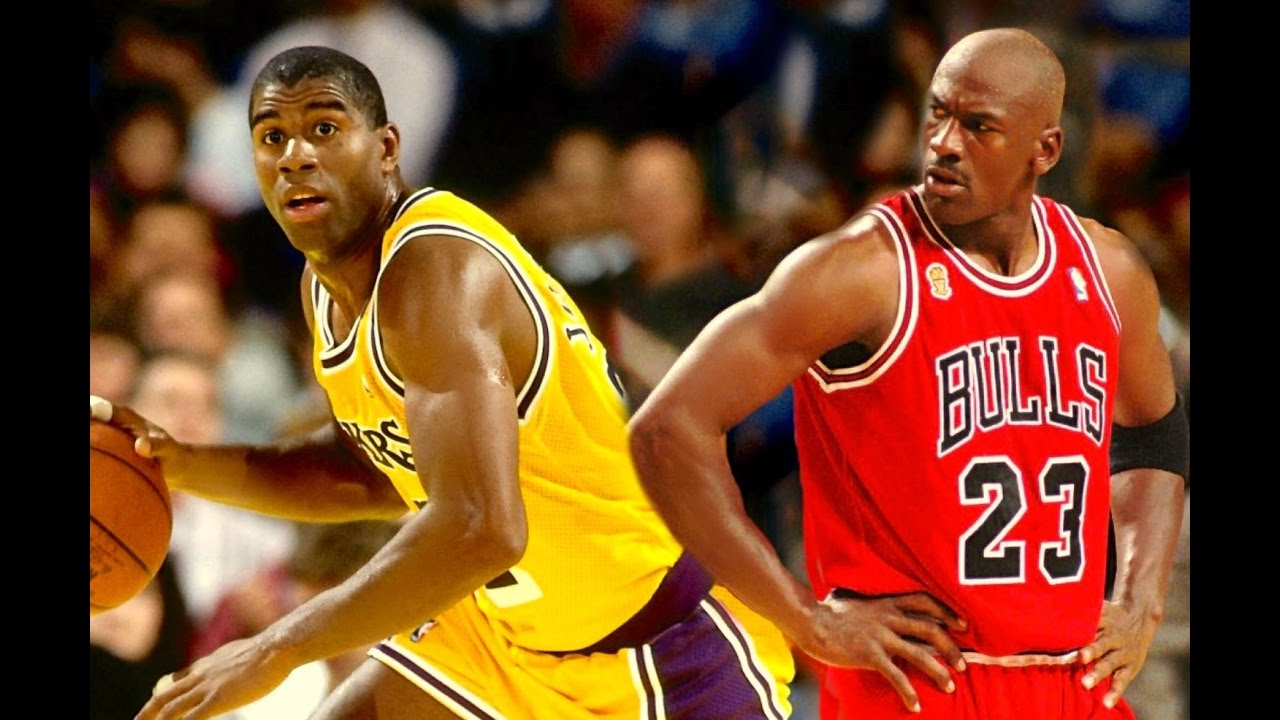 meet eeb62 663c3 Duel of the Titans- Magic Johnson Vs Michael Jordan? - Who Is The Best  Players of All Time? HD