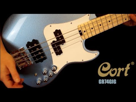 PREMIERE - Cort GB74GIG bass review. The most versatile bass in the market I've ever tried!