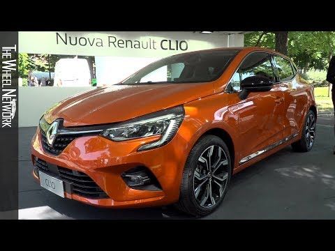 2020 Renault Clio At The 2019 Parco Valentino Motor Show