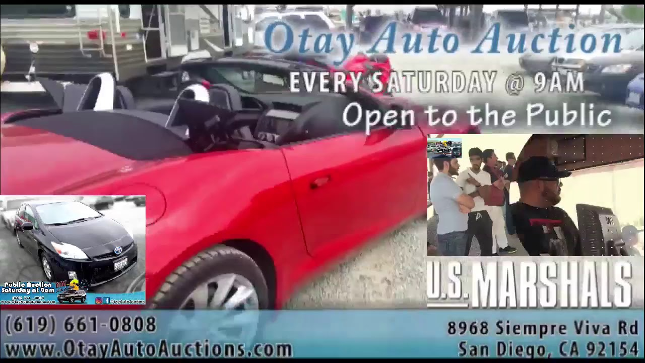 OtayAutoAuctions com (619) 661-0808 - YouTube