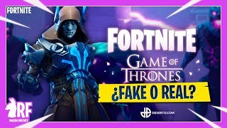 GAME OF TRONOS IN FORTNITE? FAKE OR REAL? RINCON FORTNITE
