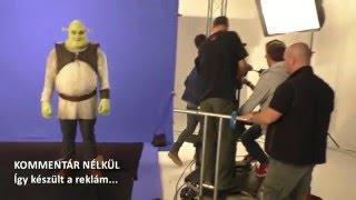 Így készült a Shrek a Musical reklámfilm