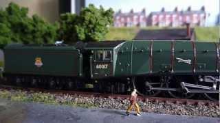 Dapol N Gauge Class A4 loco 60017