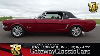 1965 Ford Mustang Now Featured In Our Denver Showroom #6-DEN