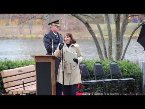 Veterans Day Ceremony 2013 At Lake Ellyn Park