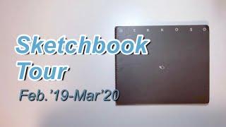 透明水彩 #スケッチ # #スケッチブック #watercolor #sketching #Sketchbooktour スケッチブックの紹介動画です。 昨年から使ってた月光荘のスケッチブック...