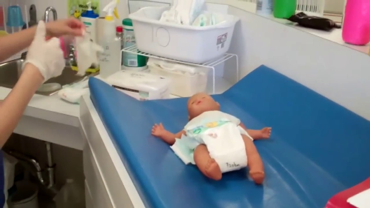Changing nappies video demonstration  Raising Children
