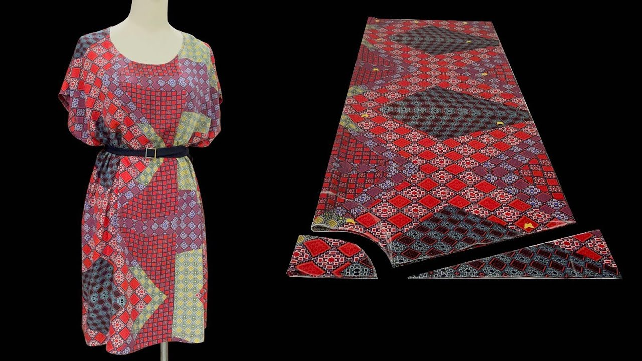 A simple but modern summer dress that anyone can do by themselves |  Dress cutting and sewing
