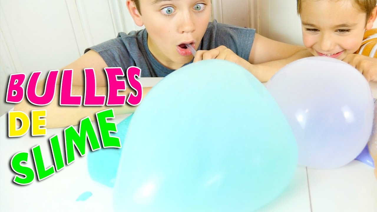 Bulles De Fluffy Slime Geantes Slime Bubbles Youtube
