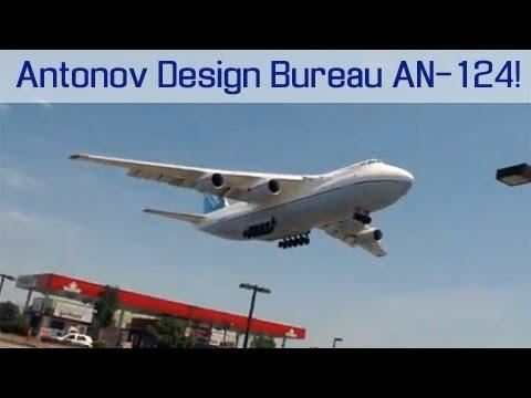 Antonov Design Bureau AN-124 Arriving into Toronto YYZ